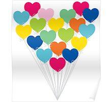happy valentine's day design Poster
