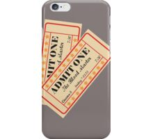 The Blood Master- 13 The Musical iPhone Case/Skin