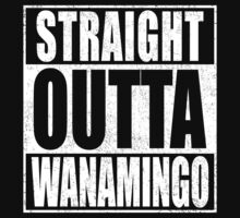 Straight Outta Wanamingo One Piece - Short Sleeve
