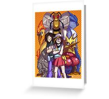 Game Grumps Elite Four Greeting Card