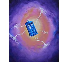 The Tardis - Acrylic Photographic Print