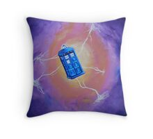 The Tardis - Acrylic Throw Pillow