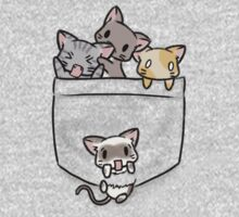 Companion Kitties One Piece - Short Sleeve