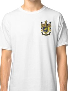 Haliski Family Coat of Arms, Version 2 with Motto Classic T-Shirt