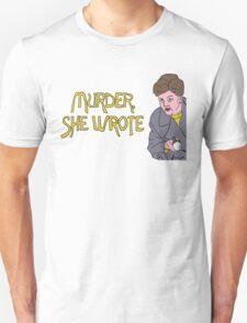 Murder She Drew Unisex T-Shirt