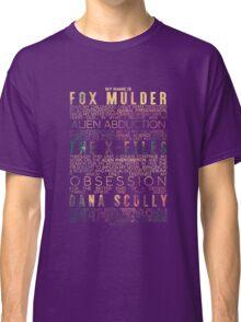 The X-Files Revival - Light Classic T-Shirt