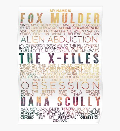 The X-Files Revival - Light Poster