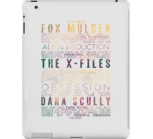 The X-Files Revival - Light iPad Case/Skin