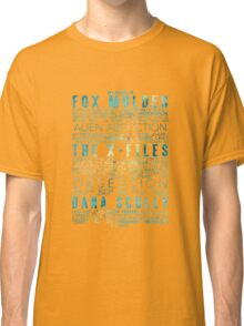 The X-Files Revival - Blue Classic T-Shirt