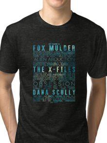 The X-Files Revival - Blue Tri-blend T-Shirt