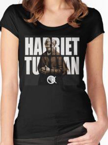HARRIET TUBMAN Women's Fitted Scoop T-Shirt