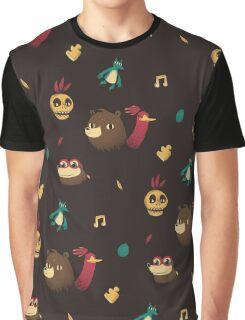banjo pattern Graphic T-Shirt