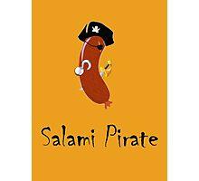 Salami Pirate Photographic Print