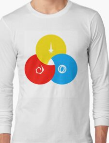 Star Trek - Starfleet Venn Diagram Design Long Sleeve T-Shirt