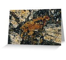 Feldspar Greeting Card
