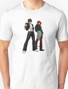 The King Of Fighters - Kyo Kusanagi Vs Iori Yagami Unisex T-Shirt