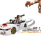Attack on 240 by ectini