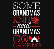 Real Grandmas Go Camping Unisex T-Shirt