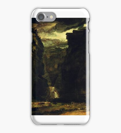 James Ward - Gordale Scar (A View of Gordale, in the Manor of East Malham in Craven, Yorkshire, the Property of Lord Ribblesdale), Tate Britain iPhone Case/Skin