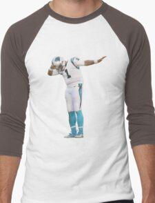 Cam Newton Dab On Them Men's Baseball ¾ T-Shirt