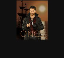 """Captain Hook Comic Poster """"Sunset"""" Womens Fitted T-Shirt"""