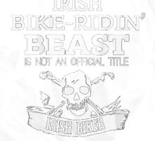 Irish Biker by HotTShirts