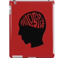 This is Your Brain on Thinking (Color: Stoicism Black) iPad Case/Skin