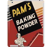 Pam's Baking Powder Poster iPad Case/Skin