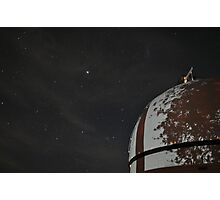 MBO Dome with Sirius and tree shadow Photographic Print