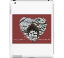 Kissing Red Pandas iPad Case/Skin