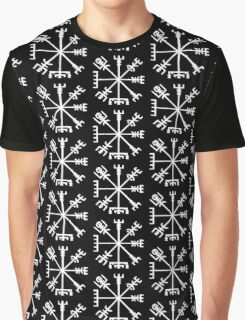 Vegvísir (Viking Compass) Graphic T-Shirt