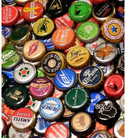Beer bottle caps Sticker