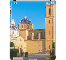 """Church of La Mare de Déu del Consol (""""Our Lady of Solace"""") in Altea  iPad Case/Skin"""