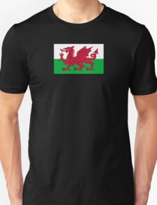 Wales National Flag - Welsh Rugby Football Fan Sticker T-Shirt Bedspread Unisex T-Shirt