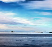 Outcrop of the Lofoten Islands, Norway by pixog