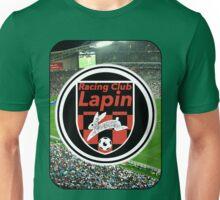 Racing Club Lapin - Red & Black Circle Logo (Stadium) Unisex T-Shirt
