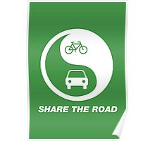 Share the Road Poster