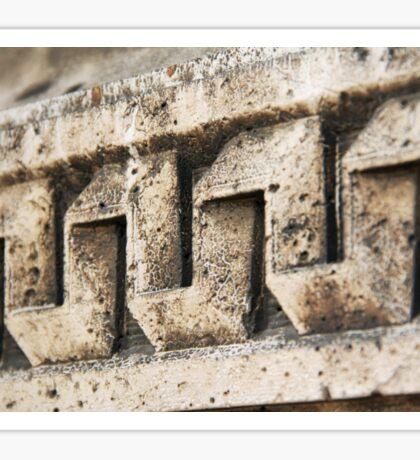 Stone Work Sticker