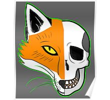 Fox Scull Poster