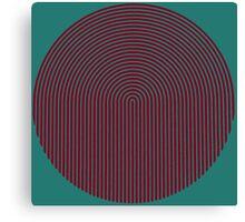 optical 6 Canvas Print