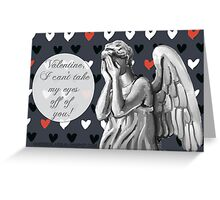Angel Valentine Greeting Card