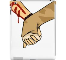 hold hands with me iPad Case/Skin