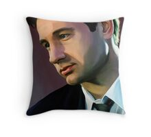 David Duchovny 3 Throw Pillow