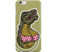 DINOSAURS WITH TITS - iPHONE iPhone Case/Skin
