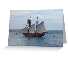 Enterprize, Australian Wooden Boat Festival Greeting Card