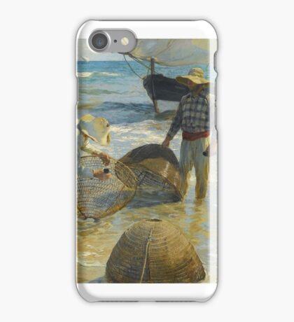 Joaquín Sorolla SPANISH PESCADORES VALENCIANOS (VALENCIAN FISHERMEN) iPhone Case/Skin