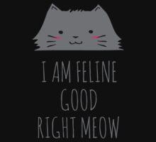 I am feline good right meow #2 One Piece - Long Sleeve
