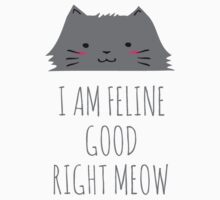 I am feline good right meow #2 Baby Tee