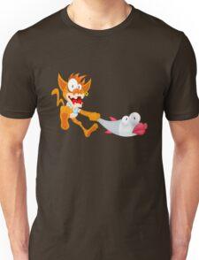 Cat and fish Unisex T-Shirt