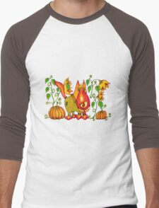 Sweet Pumpkin Men's Baseball ¾ T-Shirt